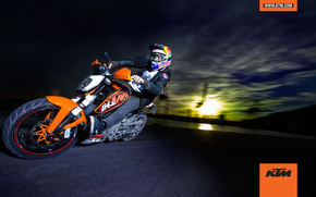 ktm, 125, duke, 2011, cars, machinery, Car