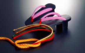 geta, rope, cord, Japan