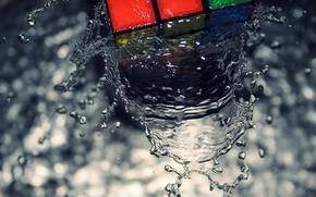 block, water, view