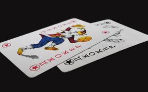 Karten, Karte, Hintergrund, Tapete, Joker, Board, Foto, rot, schwarz