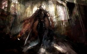 Fantasy, Warrior, the dark knight