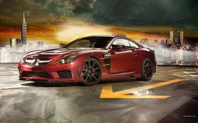 Mercedes-Benz, SL-Klasse, Auto, Maschinen, Autos