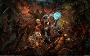 diablo 3, битва, игра
