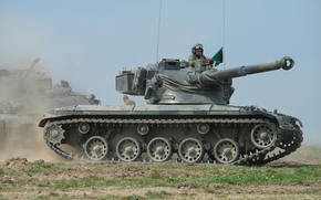tank, armor, drill