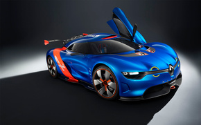 Renault, background, Supercar, cars, machinery, Car