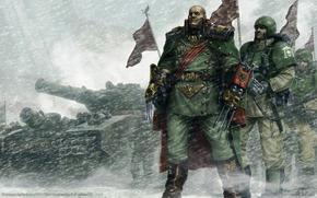 Имперская гвардия, Лорд-генерал, танк, Карающий Меч