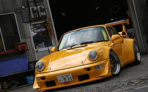 порше, мартини, гараж, Porsche