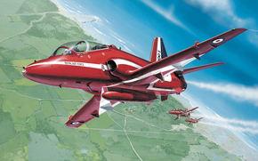 Красные Стрелы, пилотажная группа Королевских ВВС Великобритании