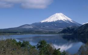 Japan, Fuji, water
