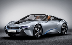 BMW, Concept, Spider, Supercar, front, background, bmw