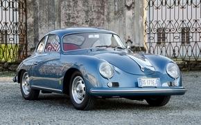 Porsche, karerra, compartment, front, classic, porsche