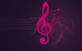 музыка, минимализм, ключ