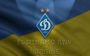 Dynamo Kiev, Ukraine, flag, football, Clubs, Icons, emblem, logo, Symbols, Symbolism