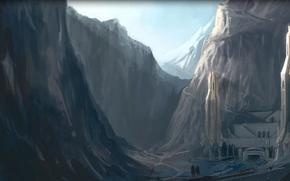 Властелин колец, Белый совет, горы, Средиземье, путники