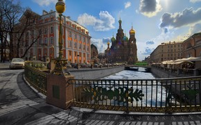 St. Petersburg, Peter, channel, Cathedral