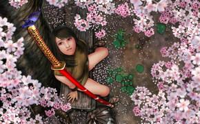 Kitana, farfalla, ragazza