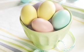 Пасха, Великдень, яйца, крашенки, стол, праздник