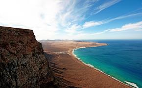 paesaggi, mare, Rocks