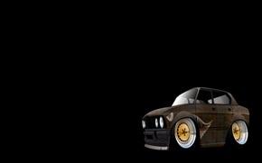 さびた, BMW, E28, スタンス, 作品, 低い,