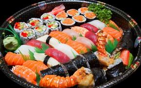 sushi, a fcut fel de mncare, fructe de mare