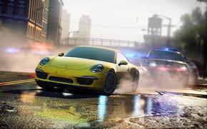inseguimento, polizia, velocit, auto, macchinario, Auto