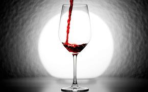 бокал, вино, фон