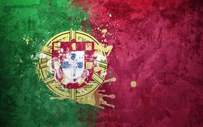 Португалия, флаг, герб, Португальская Республика