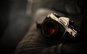 cmera, Nikon, lente