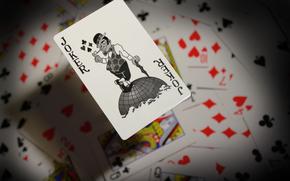 joker, cards, In the air, Ch.B. joker