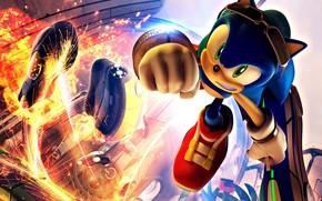 Sonic, ezheg, explosion