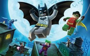бэтмэн, лего, герои