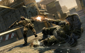 warface, Soldiers, shooting
