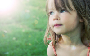 sadly, girl, sorrow, children, Beautiful, childhood, child