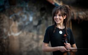 Lindsey Stirling, violn, Violinista, belleza