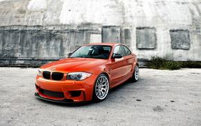 BMW, рыжий, оранжевый, автомобили, машины, авто