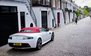 Aston Martin, vantage, Car, machinery, cars