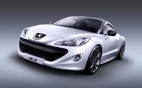sports car, compartment, Peugeot