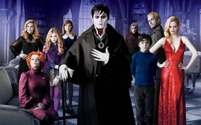 Johnny Depp, Helena Bonham Carter, Chloe Grace Moretz, Eva Green, Michelle Pfeiffer, a film by Tim Burton