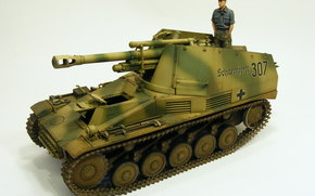 model, (OSA), Easy, The German, self-propelled, Gun, (ACS), Class self-propelled howitzers