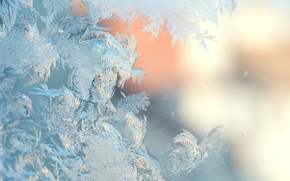 frosty patterns, Winter, ice
