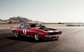 auto, traccia, tramonto, ombra, Chevrolet