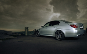 car, wallpaper, gray, BMW, m-Power, pack, clouds, machine, is, bmw