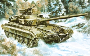 picture, tank, MBT, USSR