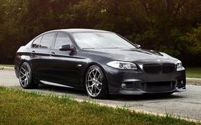 BMW, berlina, nero, Sintonia, auto, macchinario, Auto