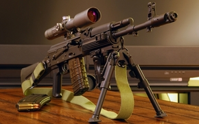 Kalash, Kalashnikov, automatico, arma, ottica, Vista ottica, Boomstick, cintura, negozi, Bipiede, maniglia, carta da parati