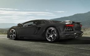 Lamborghini, Aventador, LP700-4, Carbonado, Lamborghini, Aventador, Supercar, auto, macchinario, Auto