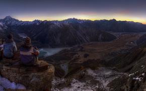Montagne, paesaggi, Widescreen