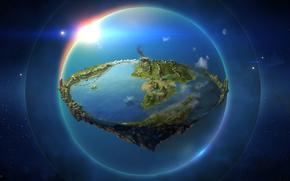 Ambarkanta, plasmare il mondo, mappa, Tre Epoche, Arda, Terra di Mezzo, terra, Il Signore degli Anelli, Silmarillion, JRR Tolkien, Fantasia