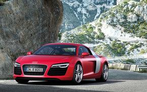 Audi, r8, Car, machinery, cars
