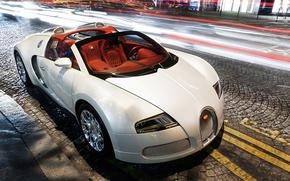 Самые дорогие авто, Ночь, Bugatti